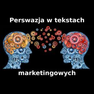 Perswazja w tekstach marketingowych wyróżniony